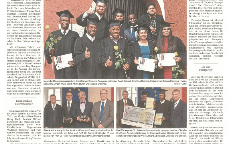 Artikel zur Graduation Ceremony in der PNP (1)